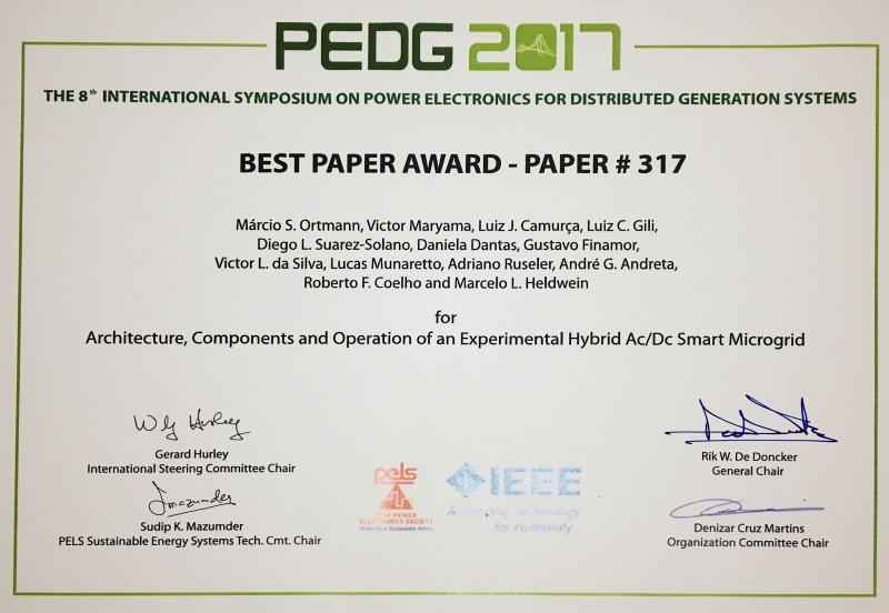 Certificado PEDG2017